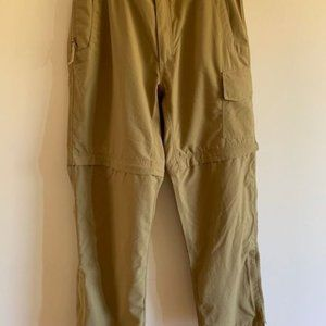 New Mountain Khakis Mens convertible pants, 34x32
